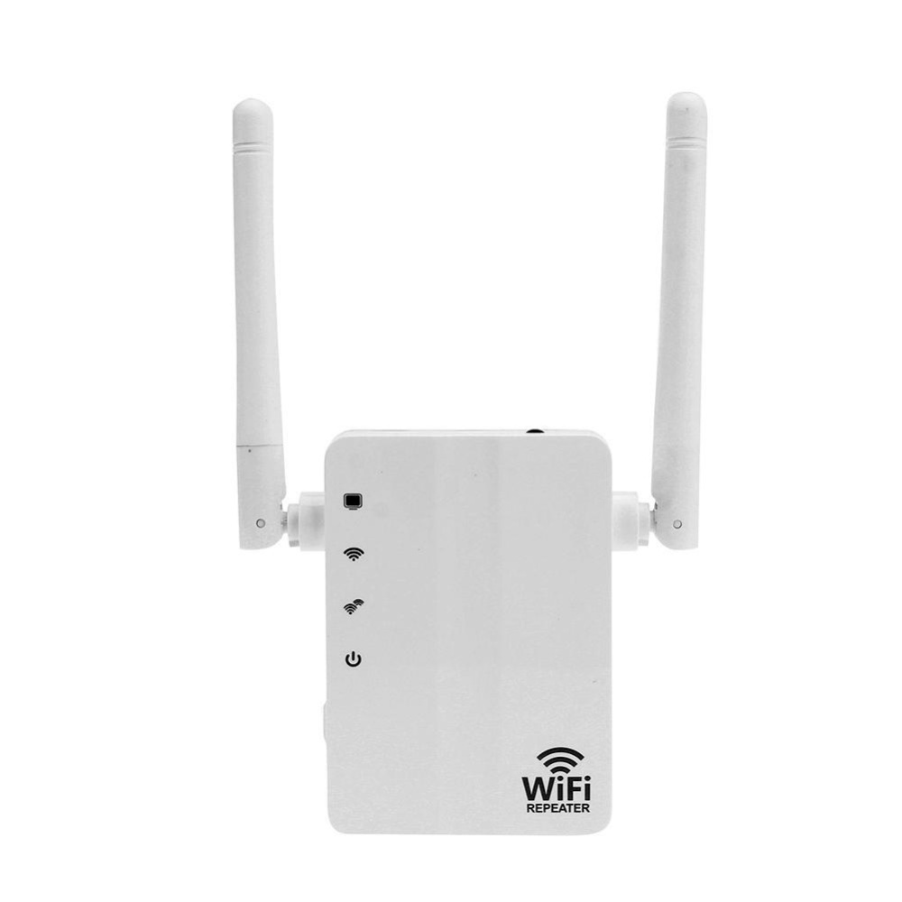 300Mbps Wall Plug WiFi Wireless Receiver Router Repeater with External Antenna