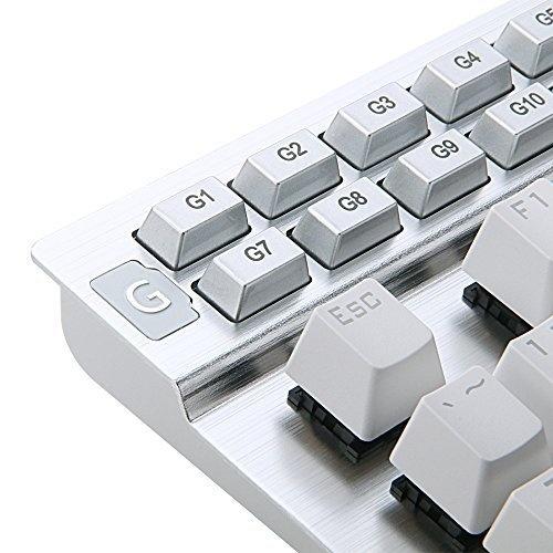3e401813379 Redragon K550 Yama RGB LED Backlit Customizable Mechanical Gaming Keyboard  (White). White
