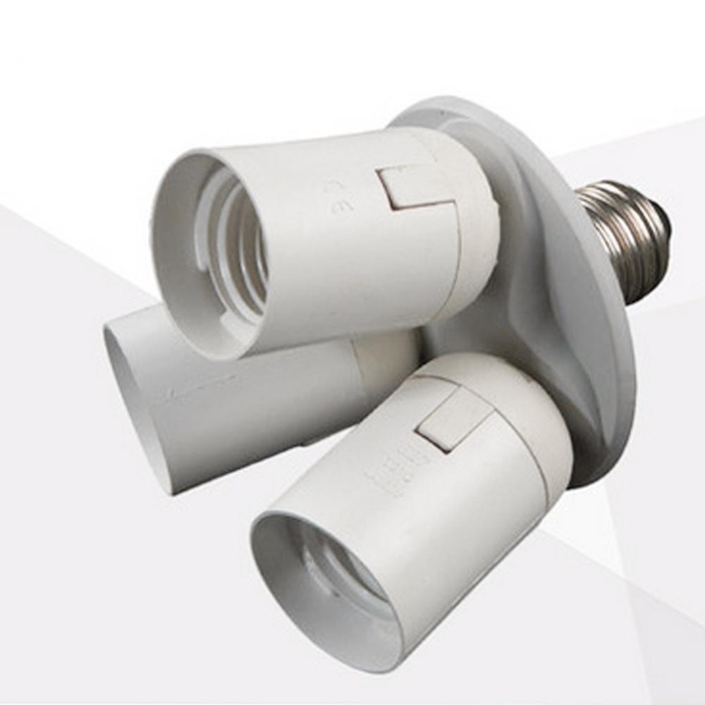 Gethome Super Pratical 7 Bulbs In 1 Lamp Socket E27 Holder Base Single 110v 240v Intl
