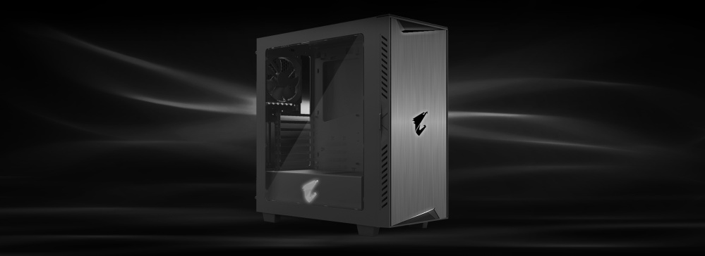 Buy AORUS AC300W ATX Mid-tower PC Case Singapore