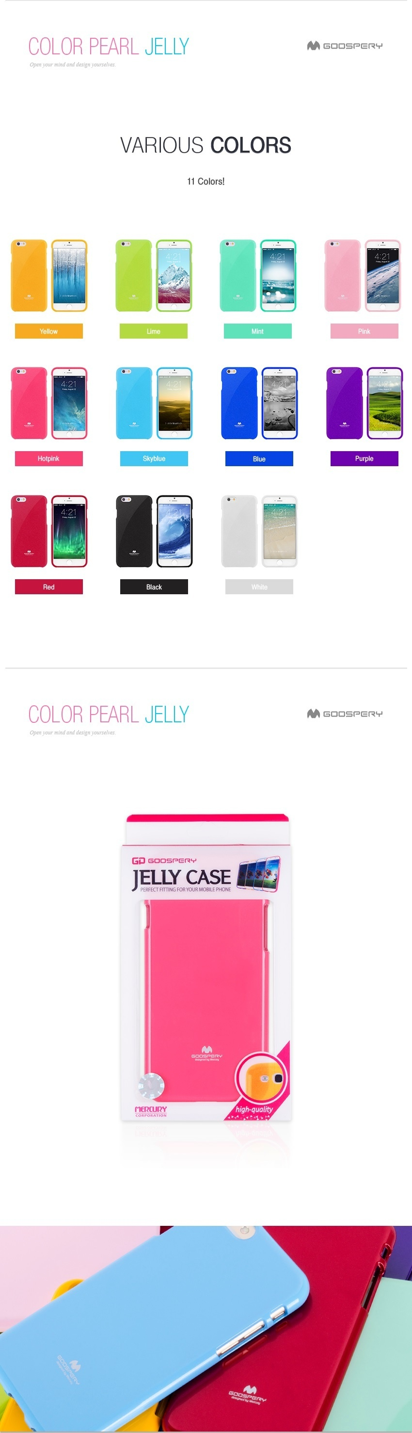 Goospery Samsung J2 Pro 2018 Jelly Case Authentic Lazada Singapore Pearl All Type Special  Hotpink Specifications Of