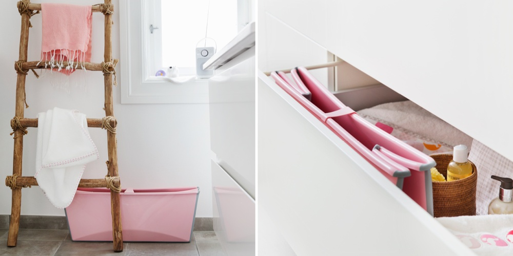 Stokke Flexi Bath collages, February 2017.
