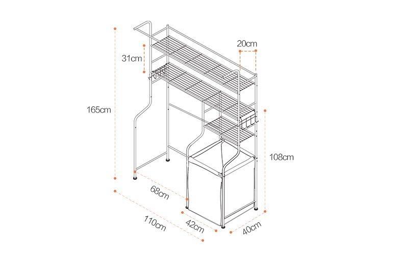 Umd carbon steel kitchen storage rack microwave oven rack lazada httplazada12787236ml ccuart Images