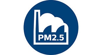 3 smart presettings for different airborne pollutants