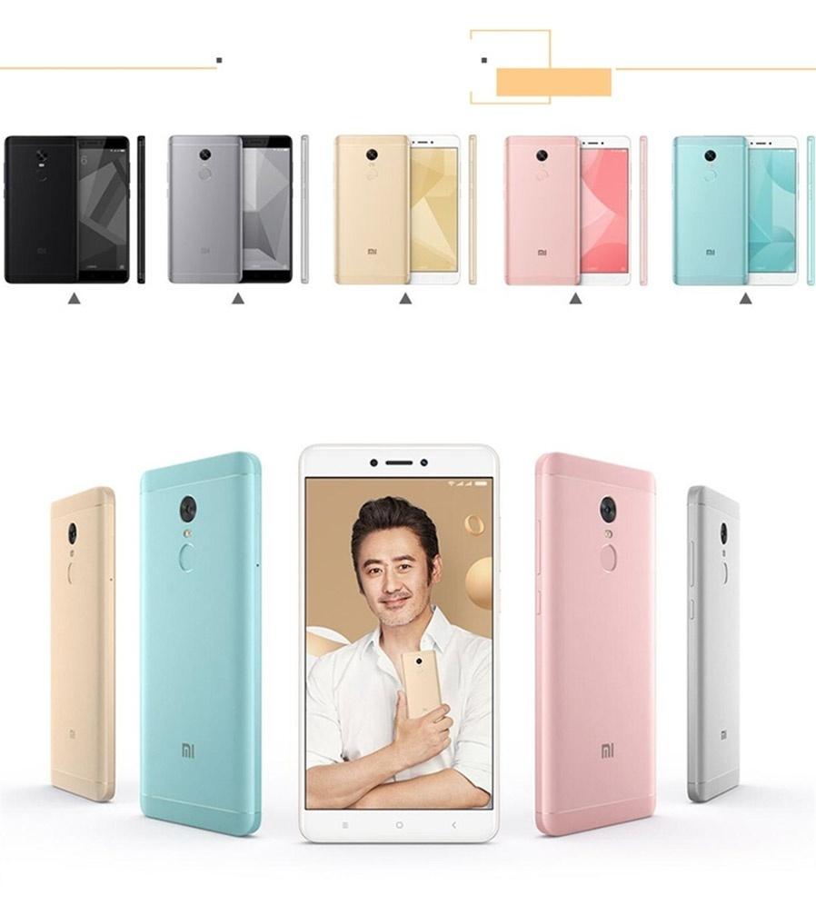 Xiaomi Redmi 4x 55 Dual Sim Phone W 3gb Ram 16gb Rom Intl Rely Note Blackgoldgreyrose Goldblue Colorful Metal Long Battery Life Qualcomm Snapdragon 625 Octa Core High Performance Processor Form Color Blackgoldgreypink