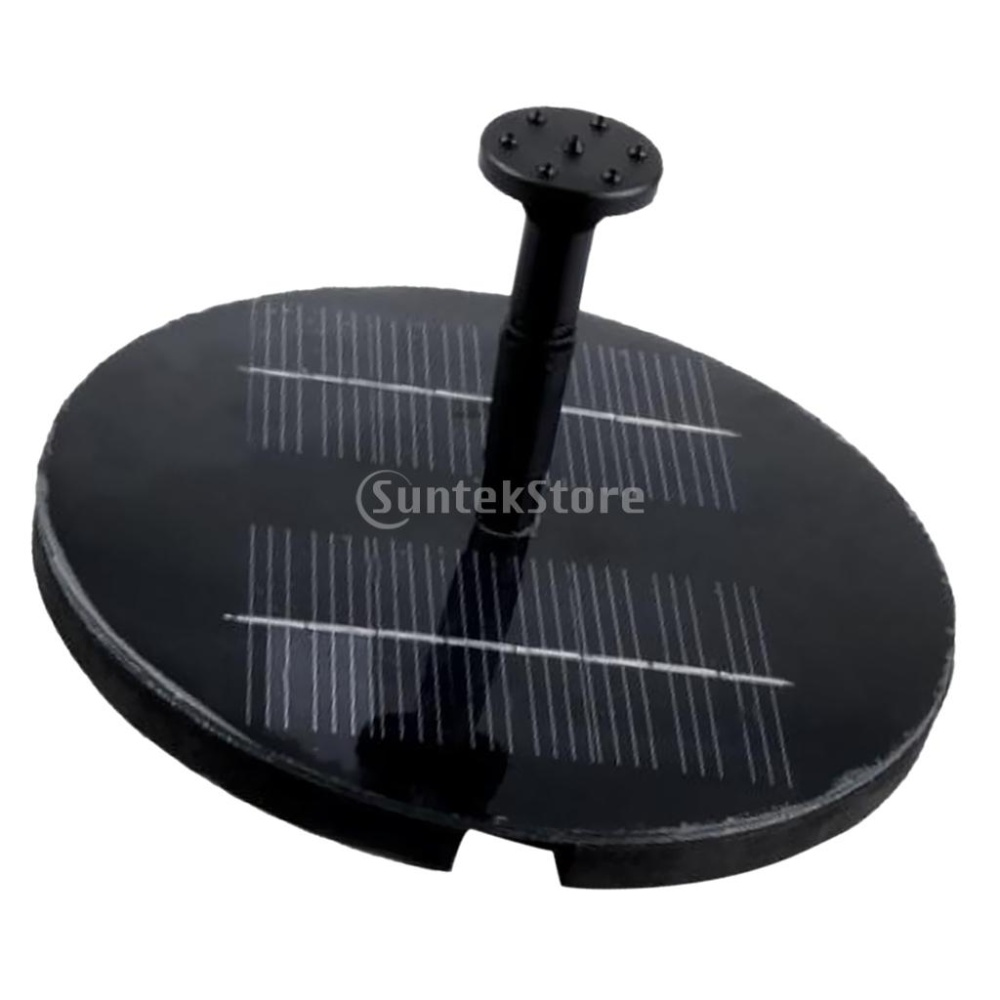 Solar water pump garden fountain pond lazada singapore for Solar pond filter