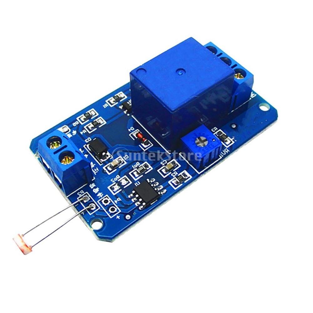 Bolehdeals 12v Light Control Switch Photoresistor Relay Module Arduino 1 Piece Of
