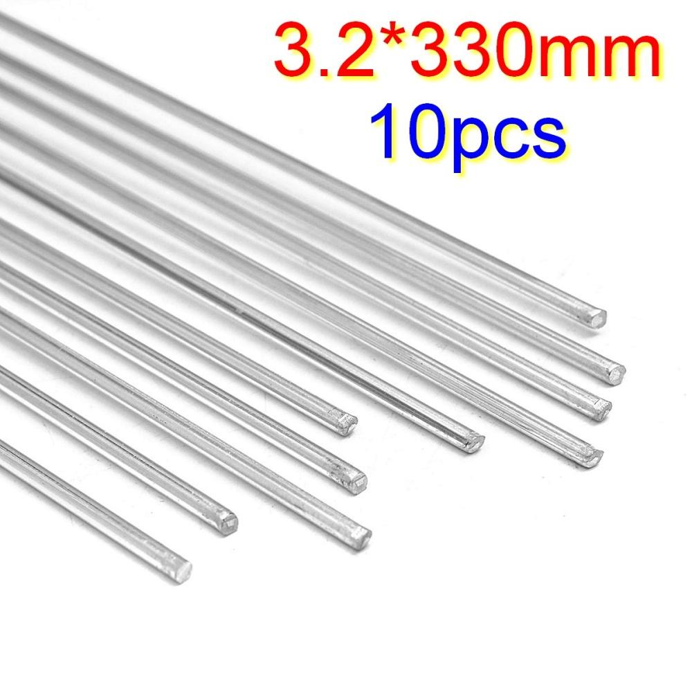 10pcs 3.2mm Aluminium Alloy Low Temperature Welding Brazing Rod For ...