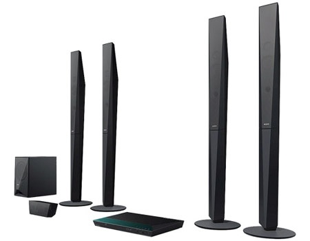 Sony Blu-ray Home Cinema System with NFC and Bluetooth - BDV-E6100