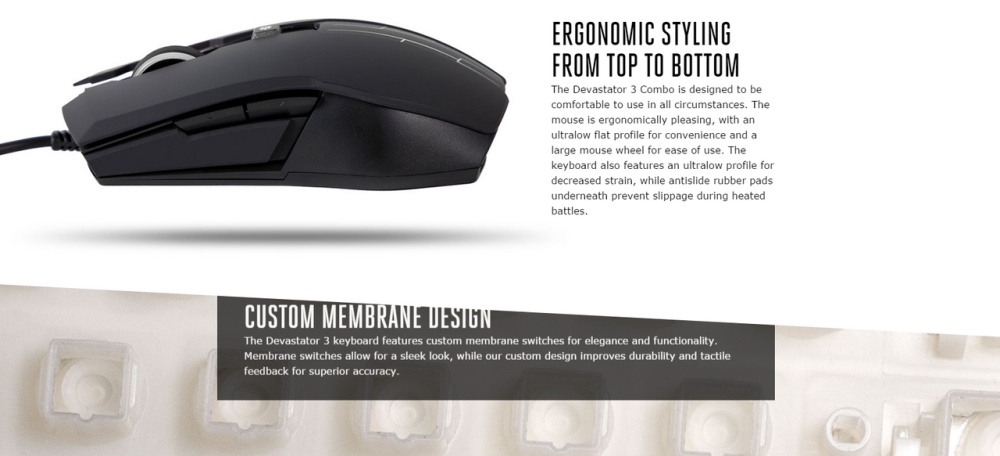aef0682f375 Specifications of CoolerMaster Devastator 3 Gaming keyboard and mouse combo