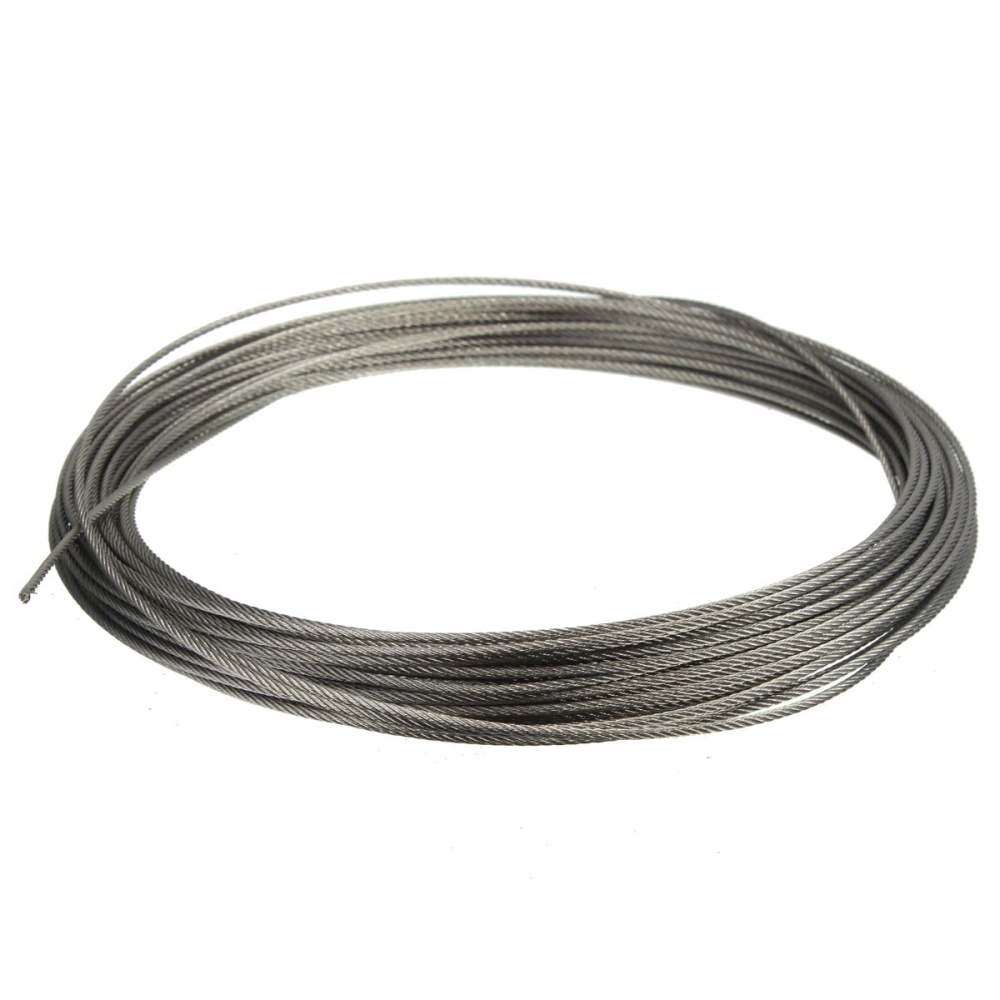 15M (50feet) 100% Marine Grade 316 Stainless Steel Cable Wire Rope 1 ...