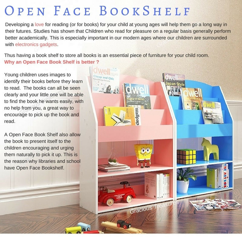 Open Face Bookshelf Kids Bookshelf Children Book Shelf