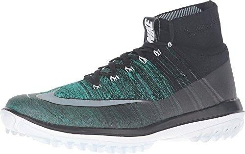 fbdf65cd4a77 GPL  Nike Flyknit Elite Spikeless Golf Shoes 2017 Pink Blast Volt ...