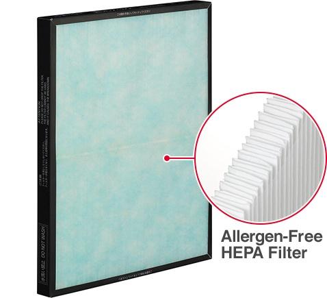 Allergen-Free HEPA Filter