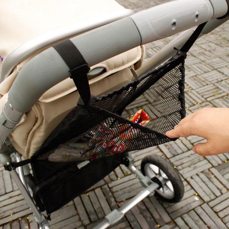 c01f88210b Specifications of Pram Stroller Storage Bag Mesh Bag Net Sling Organizer  Baby Product Black - intl. Brand