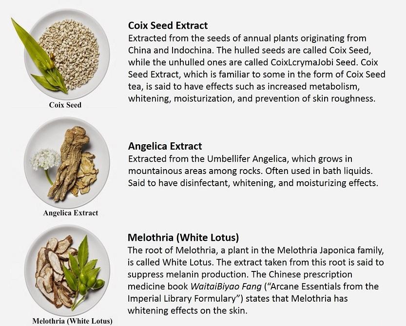 kose oriental plants