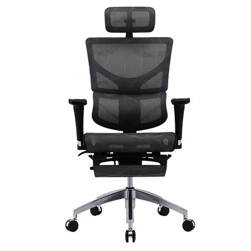 Us Patent Design Fully Ventilated Office Chair Adjule Headrest Backrest Armrest Seat Depth Flexible Lumbar